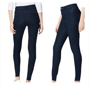 NWT J. Jill high rise denim jean leggings zipper closure size 12 new with tags